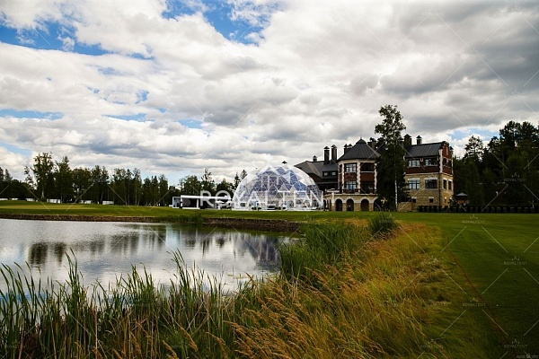 Шатер сфера для BMW GOLF CUP INTERNATIONAL 2015